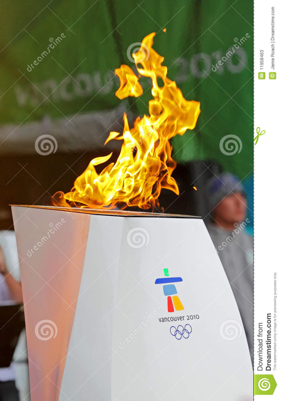 Olympic Flame Cauldron Editorial Stock Photo Image Of Games 11958463