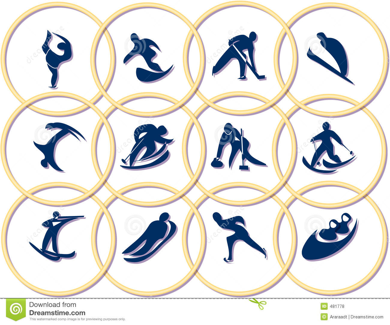 Olympic Games Symbols Royalty Free Stock Photos - Image: 481778