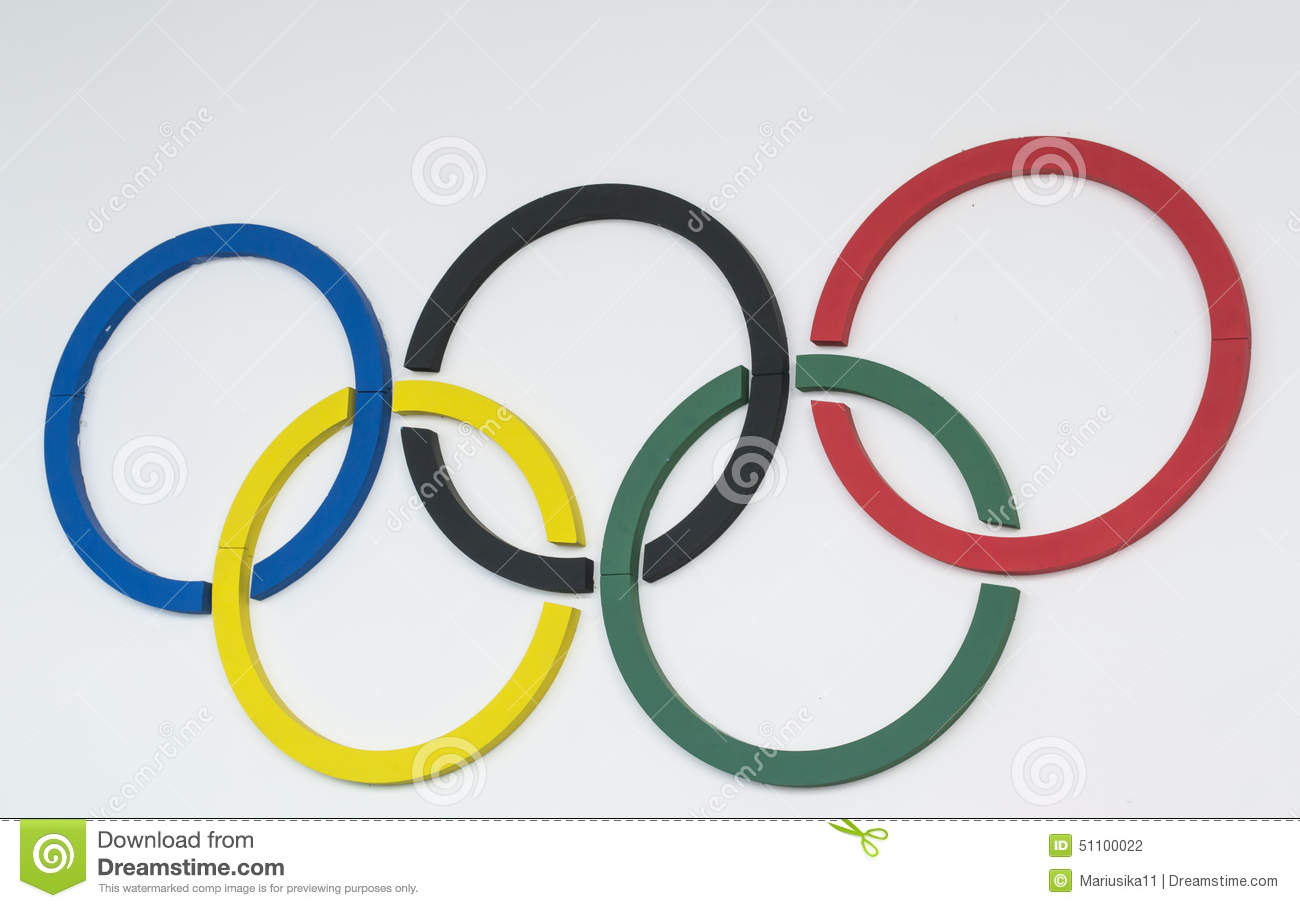 Continents Of Olympic Rings