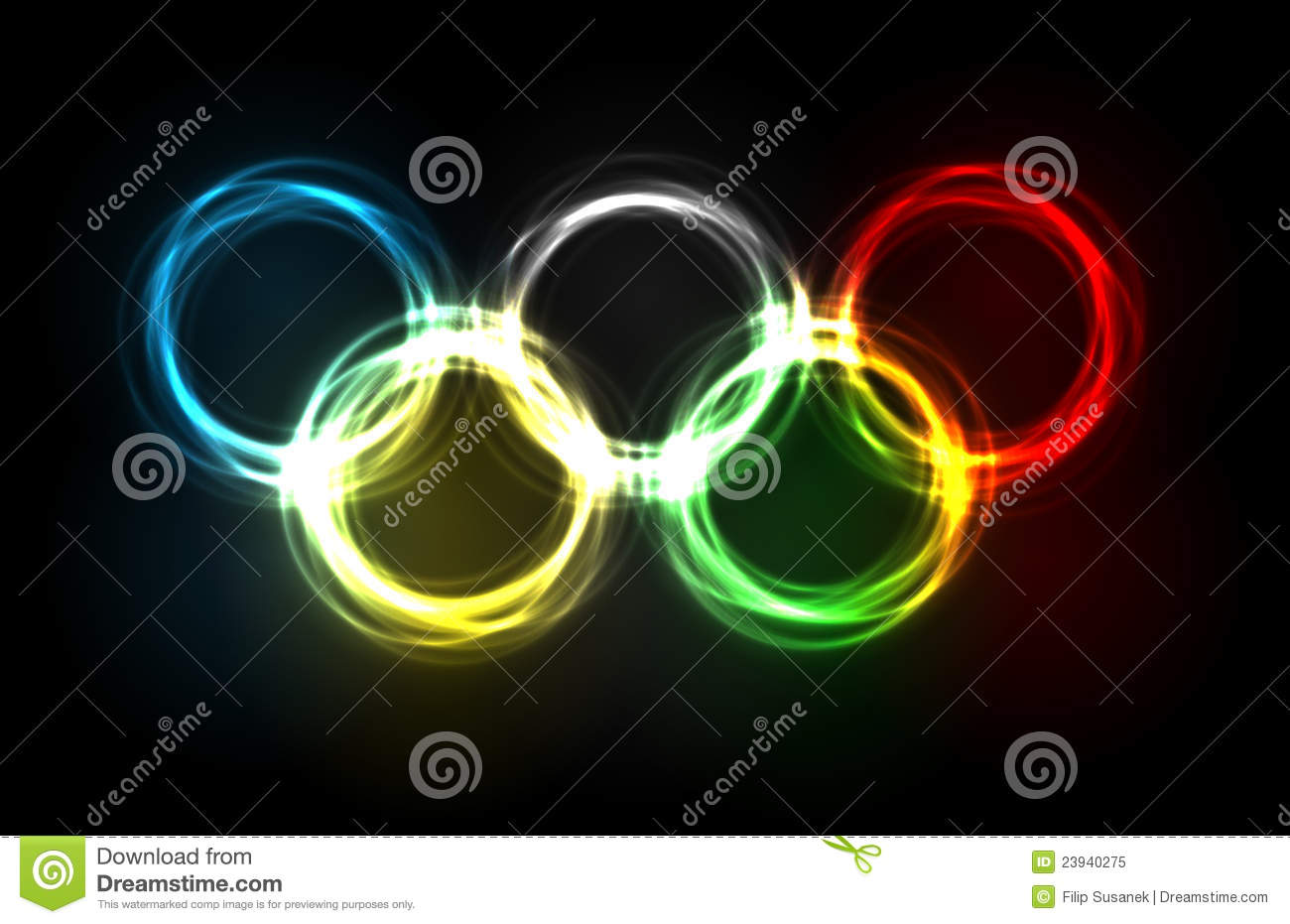 What Colours Make Up The Olympic Rings
