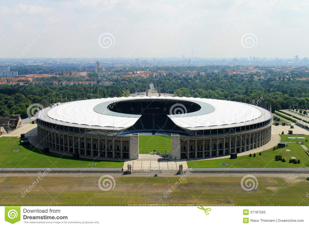 The Olympic stadium from Berlin.