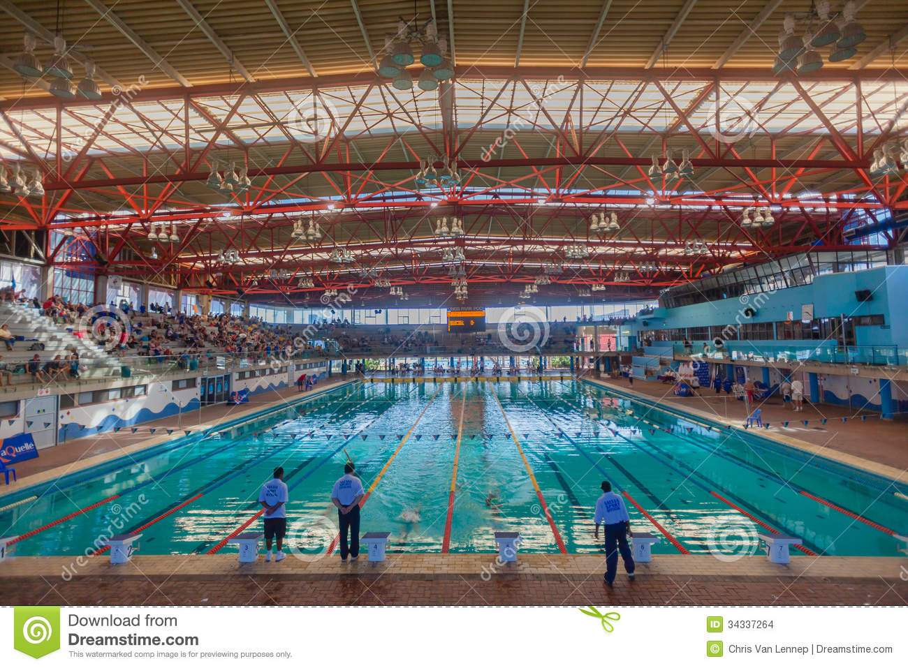 Olympic swimming pool indoors durban editorial stock image image of durban meets 34337264 for Olympic swimming pool pictures