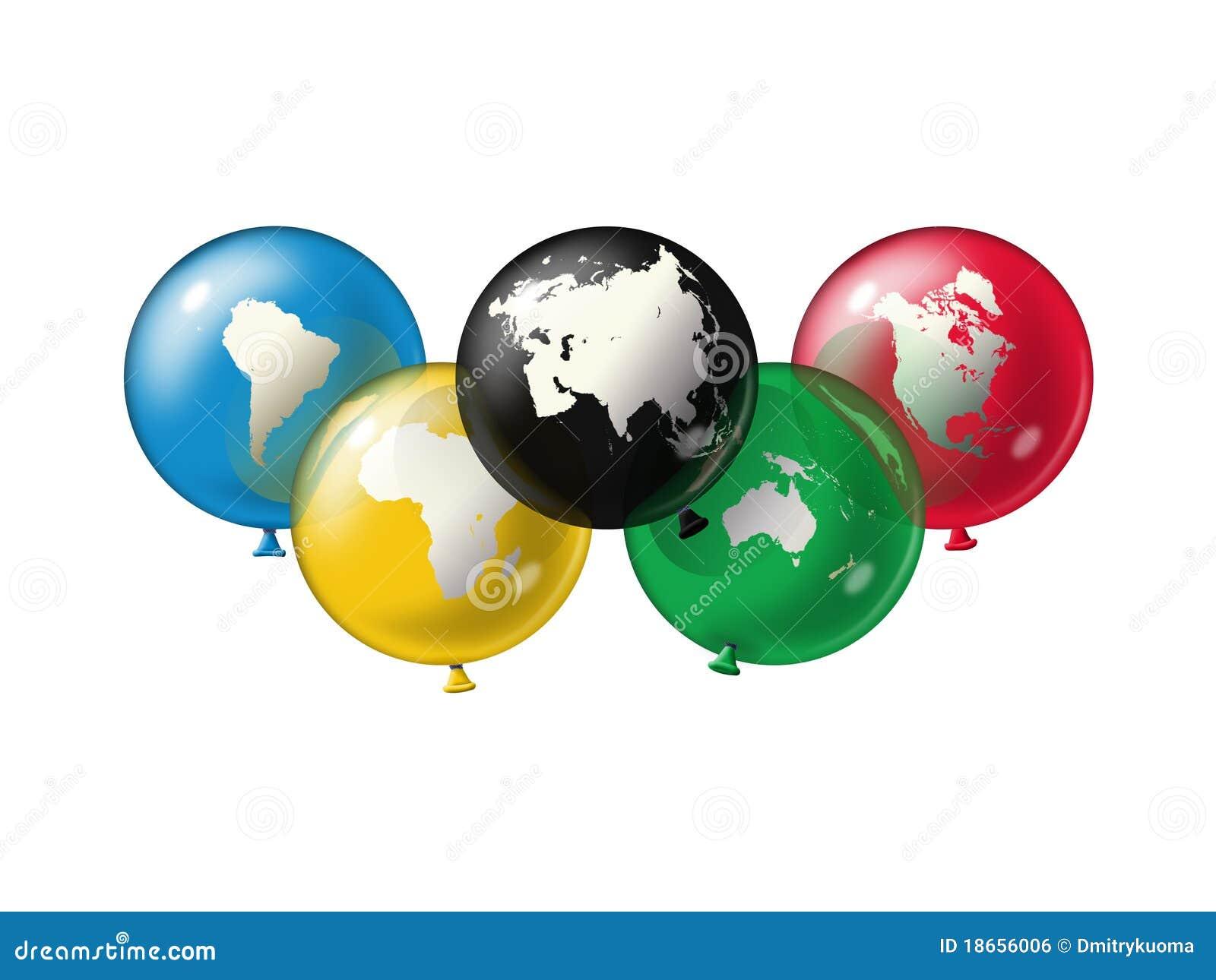 Olympic Symbol Royalty Free Stock Image - Image: 18656006