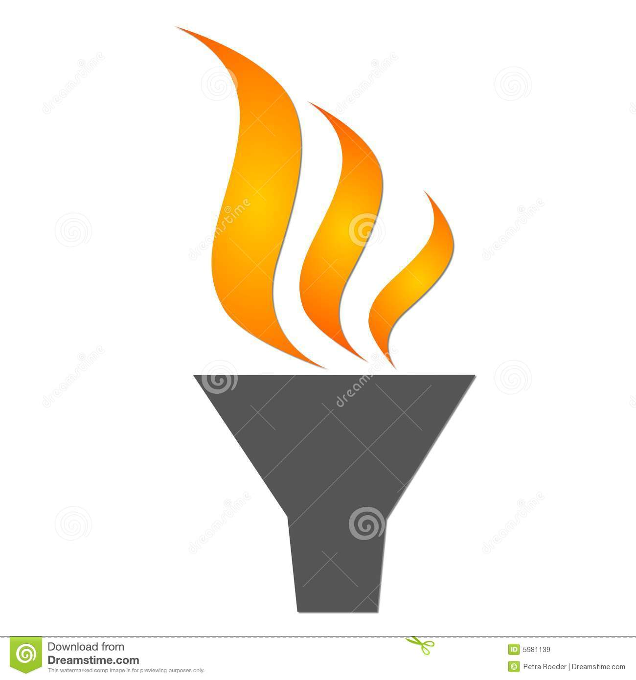 Olympic Torch stock illustration. Illustration of spirit - 5981139 for Olympic Torch Fire  58lpg