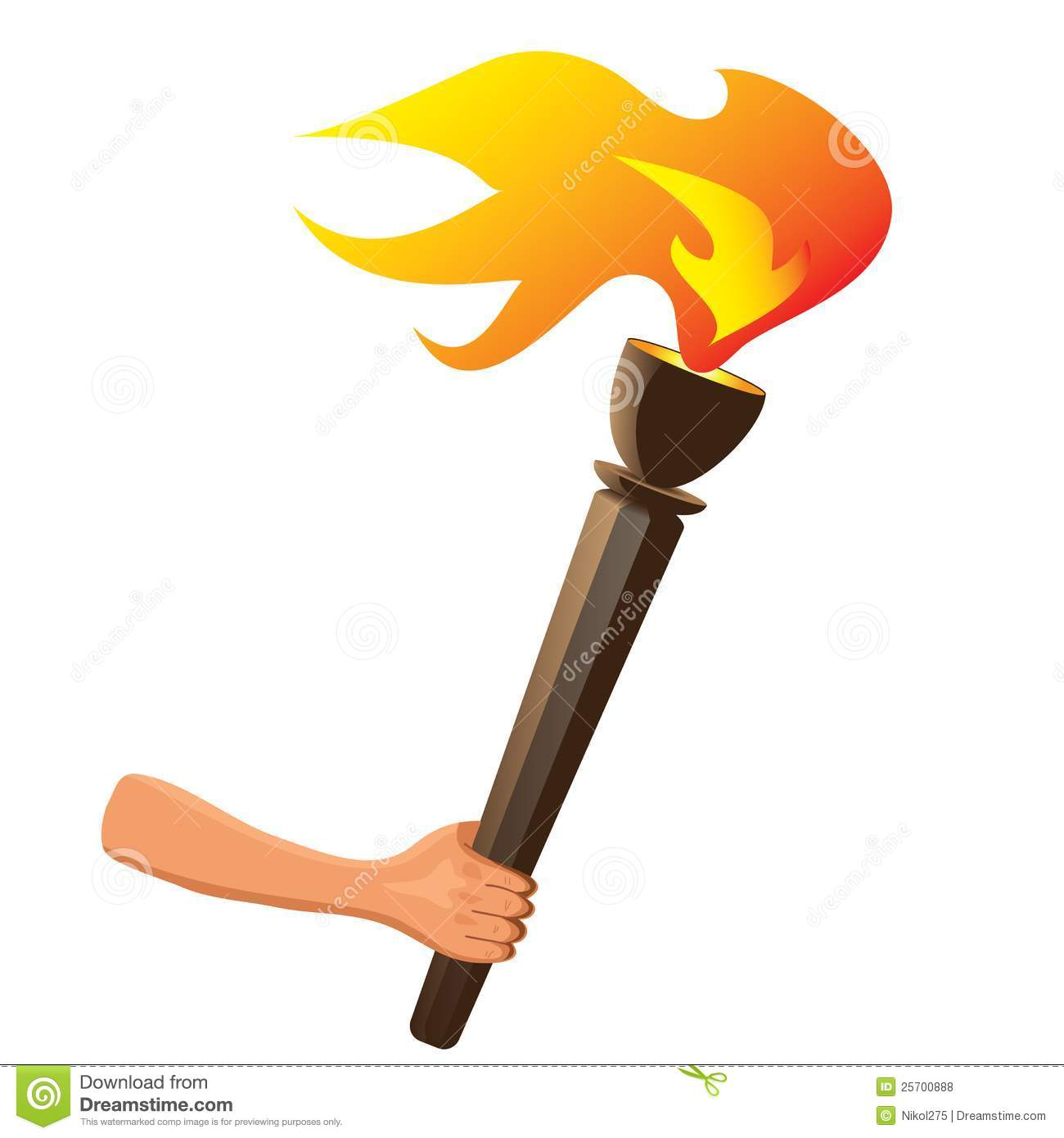 Olympic Torch Stock Illustrations 826 Olympic Torch Stock