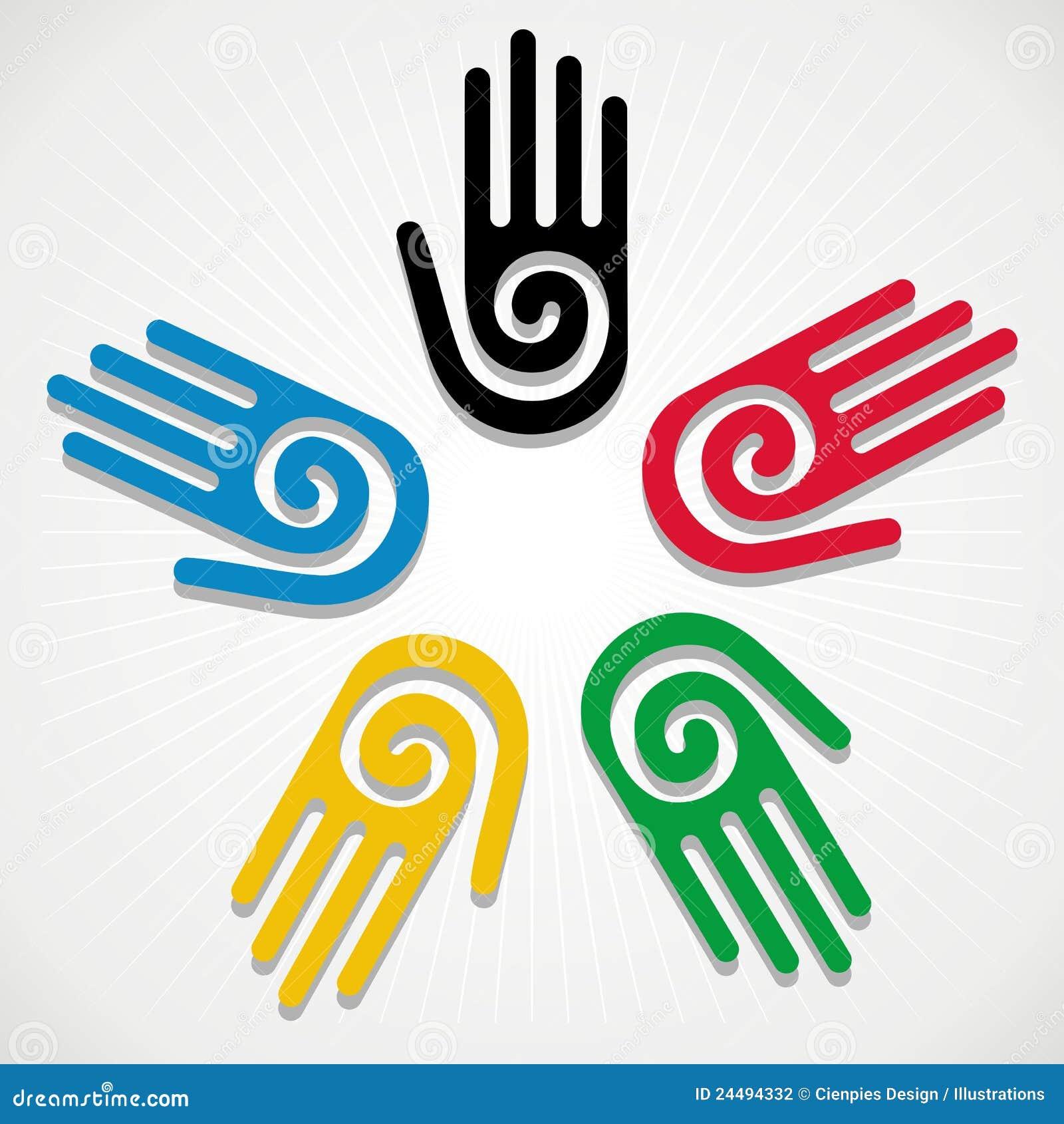 Logo olimpiadas 2012 vector