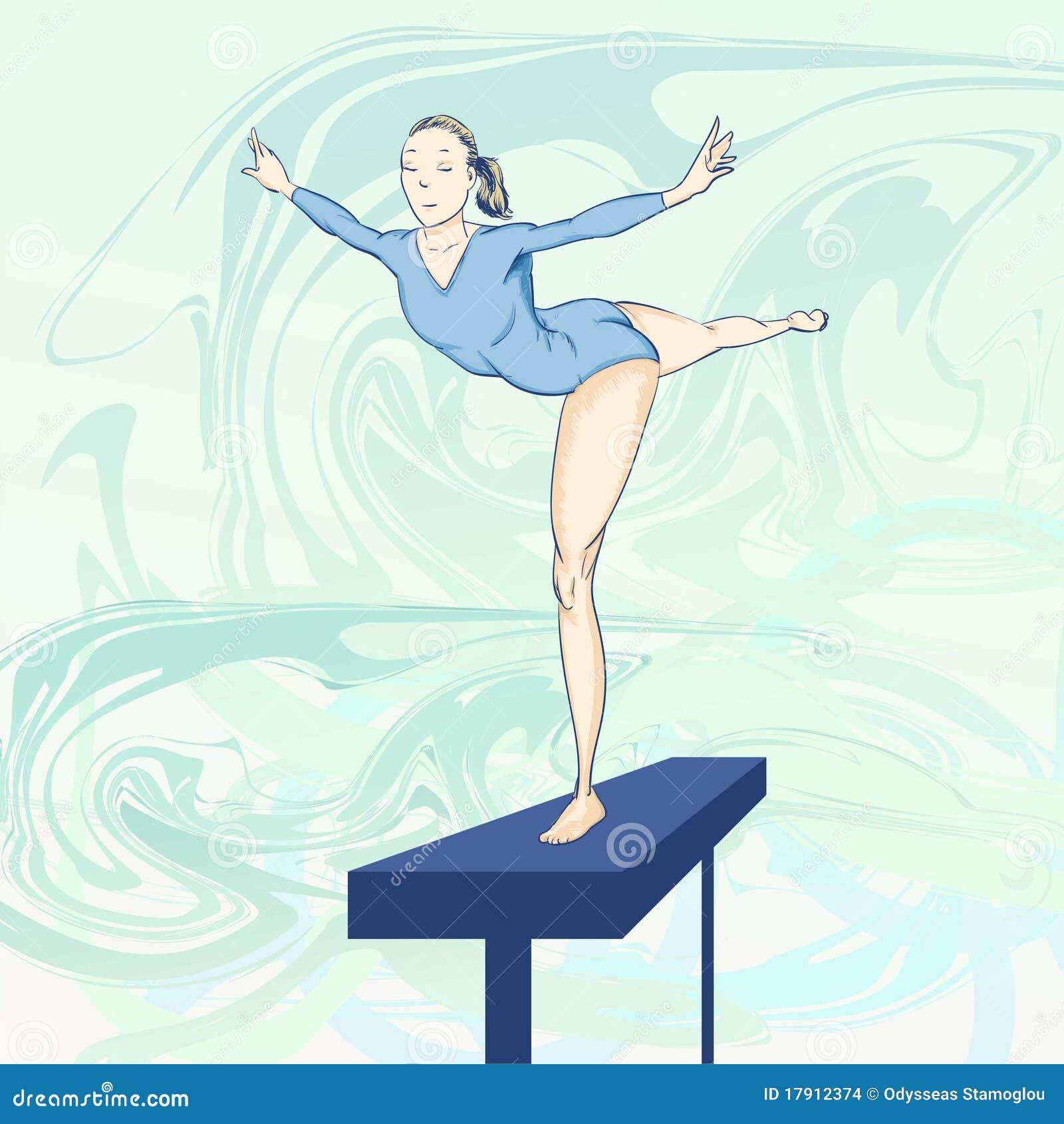 Olympische toons - Gymnastiek