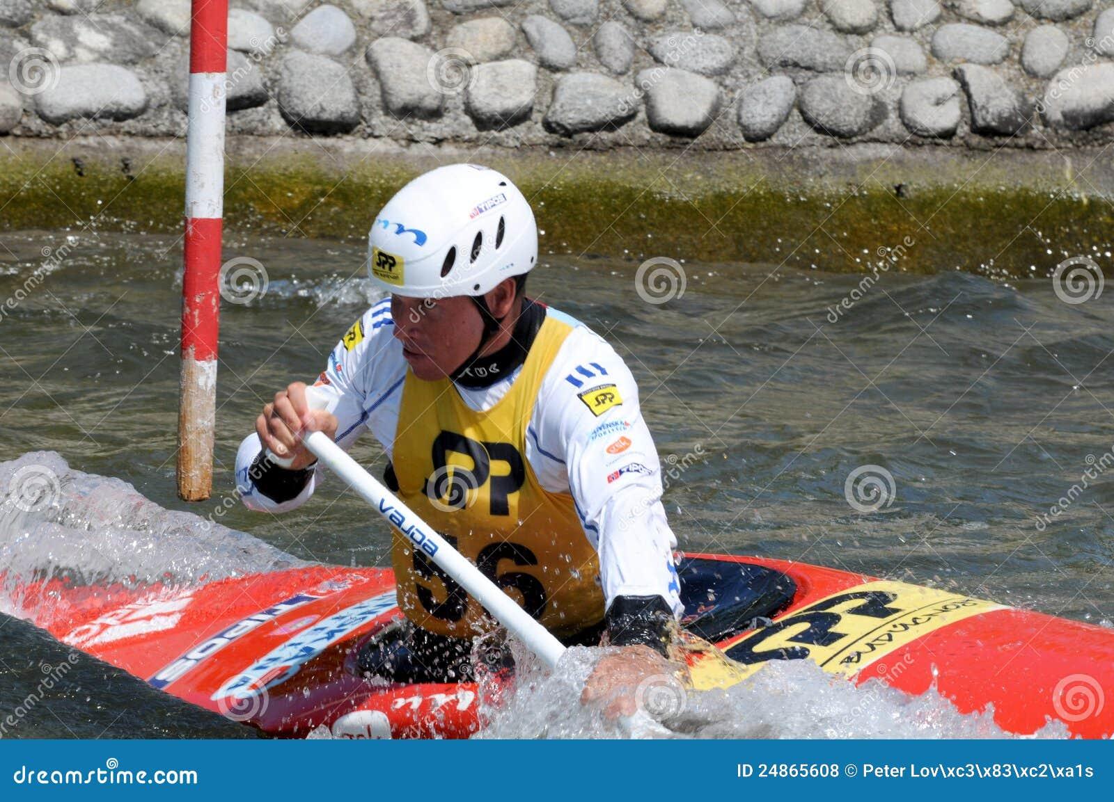 Olympischer Meister Michal Martikan Slowakei