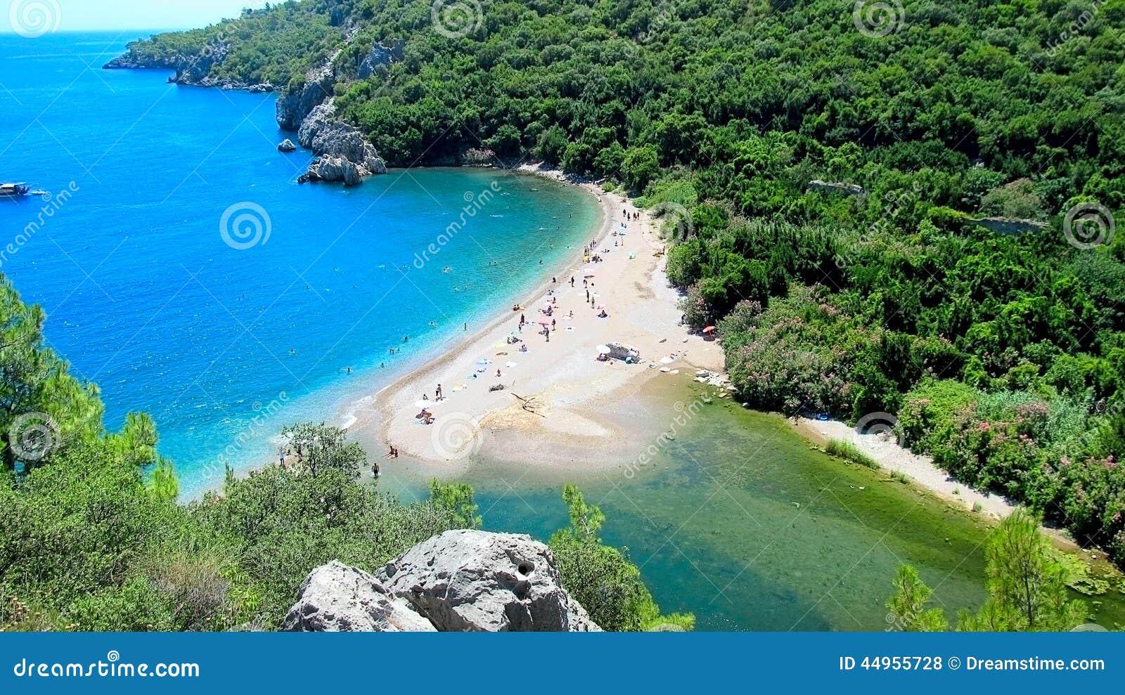 OLYMPOS BEACH, TURKEY Stock Photo - Image: 44955728