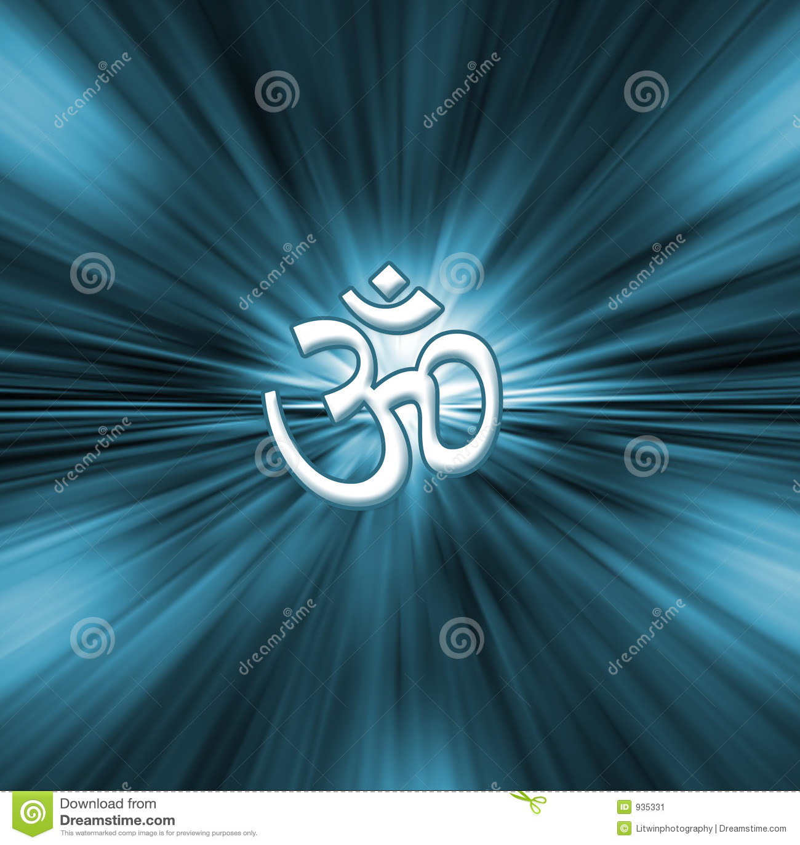 Om符号瑜伽