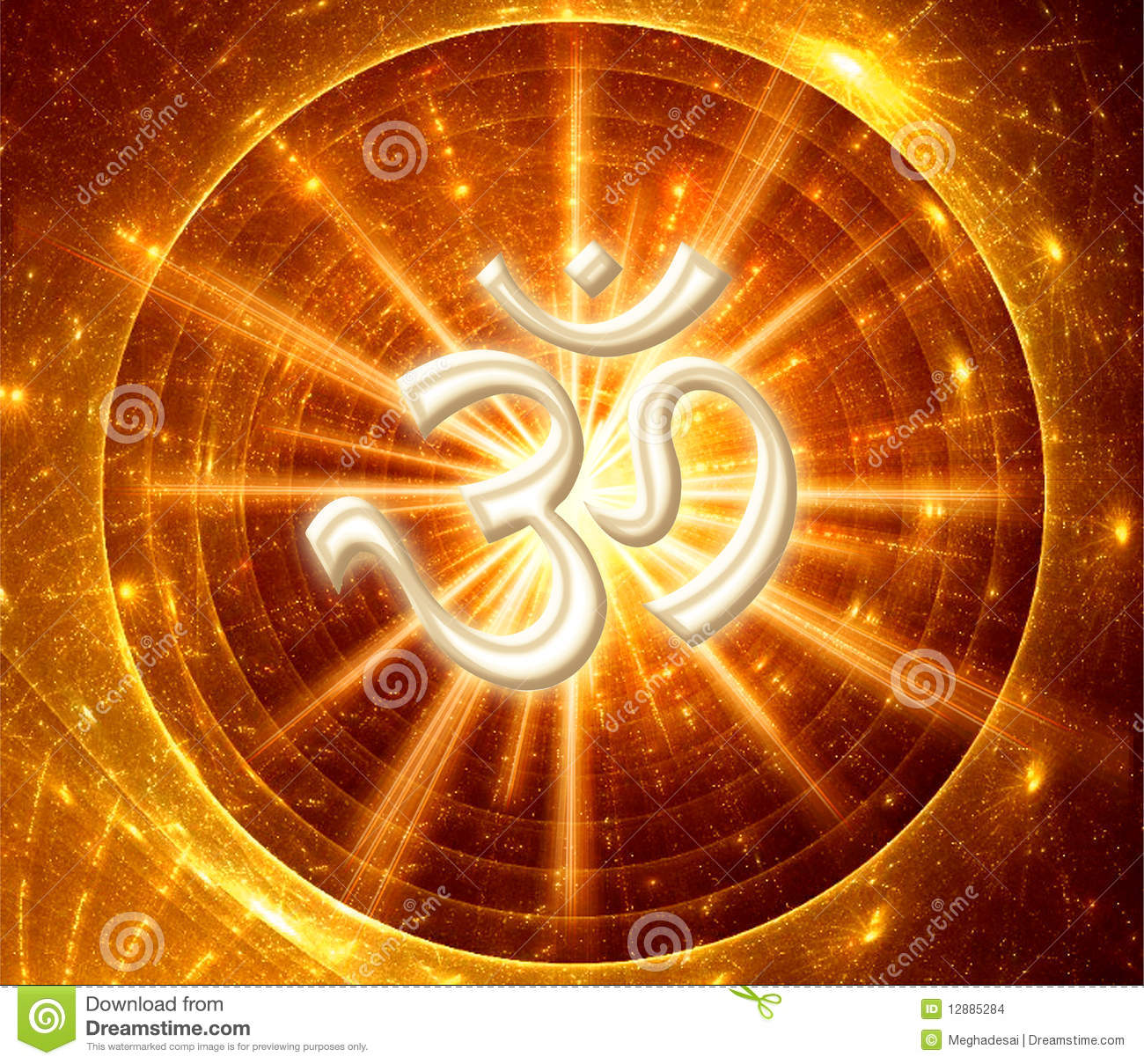 Om Symbol Stock Illustration Illustration Of Guru Indian