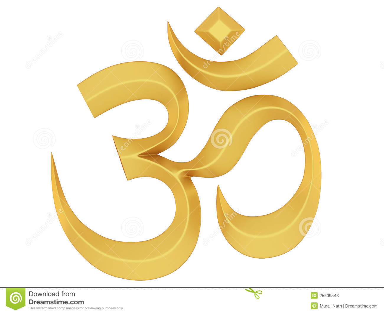 Om Symbol Stock Photos - Image: 25609543