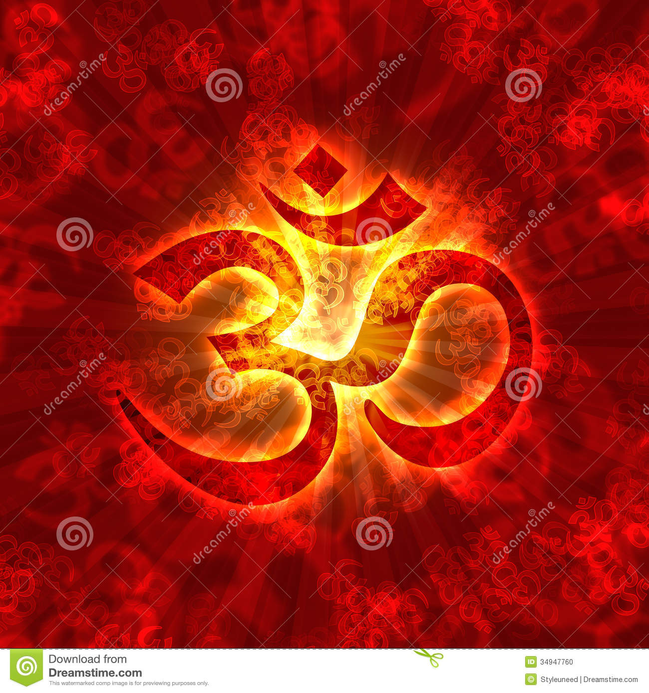 Om Symbol Illustration Aum Holy Buddhist Sign Enlightenment on aum symbols om graphics hindu religious
