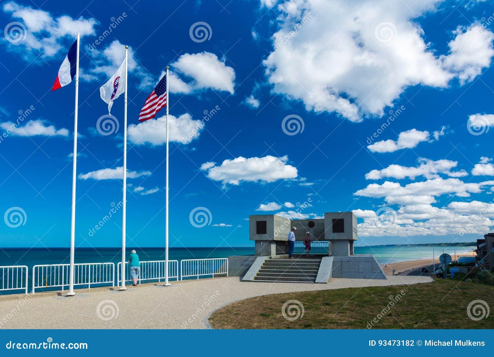 Omaha plaży pomnik