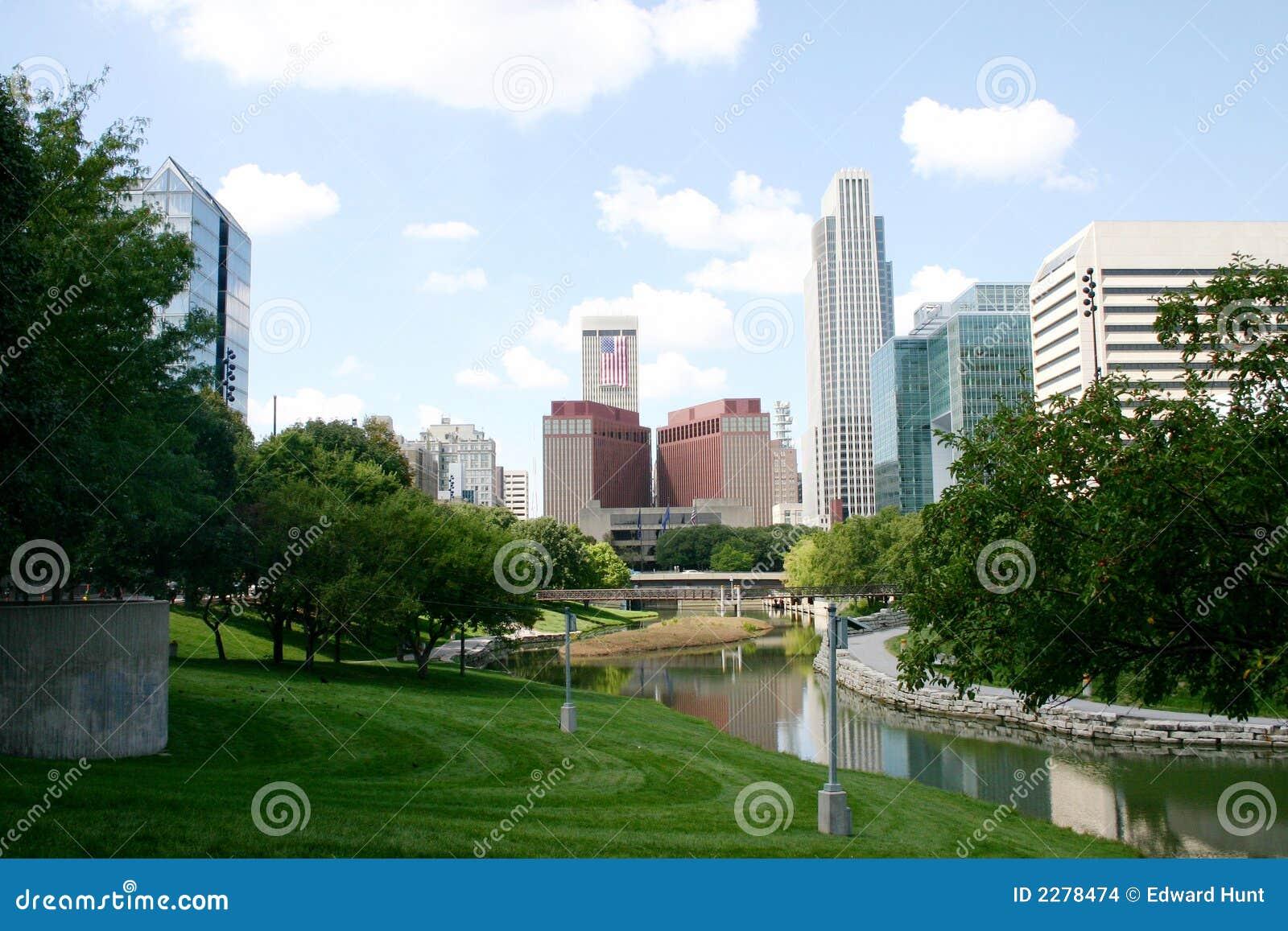 Omaha van de binnenstad