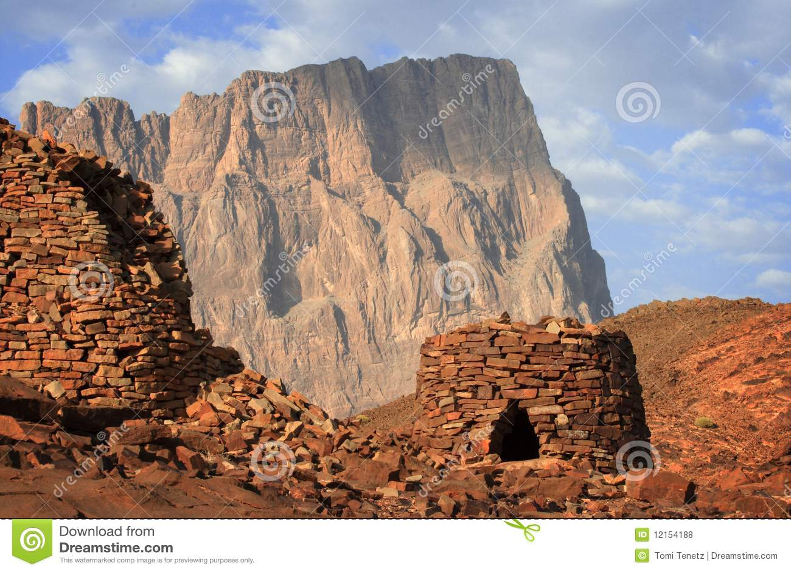 Oman Beehive Tombs Royalty Free Stock Photos Image