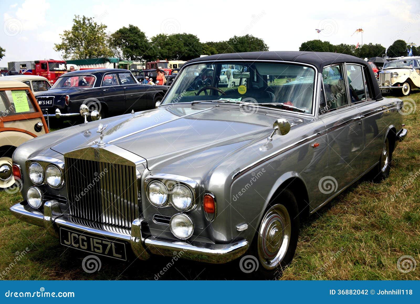 Download Ombra Classica II. Dell'argento Di Rolls Royce. Fotografia Editoriale - Immagine di automobile, classico: 36882042