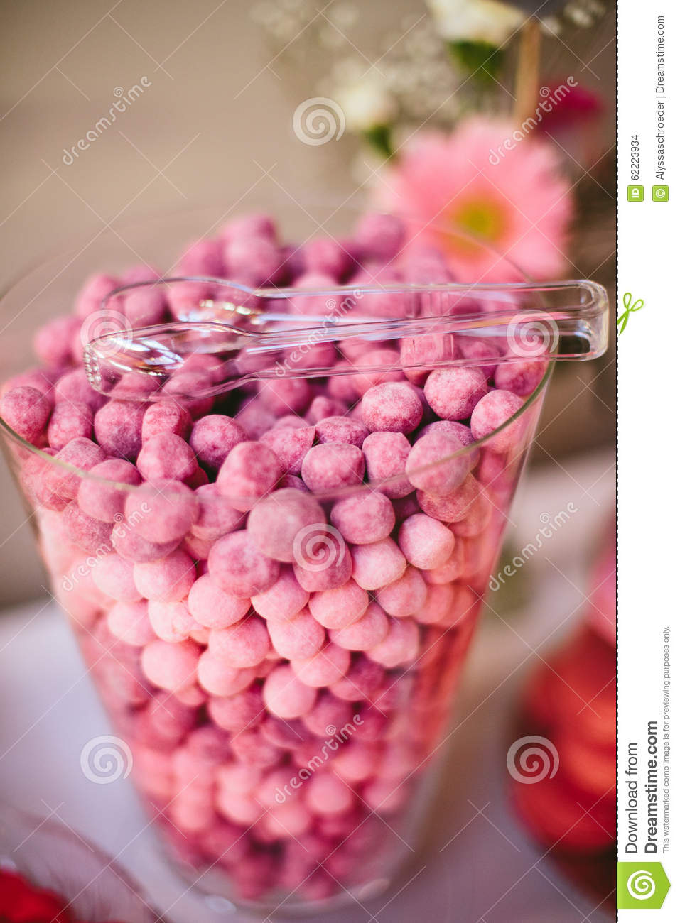 Ombre Candy Buffet Table Stock Photo Image Of Table 62223934