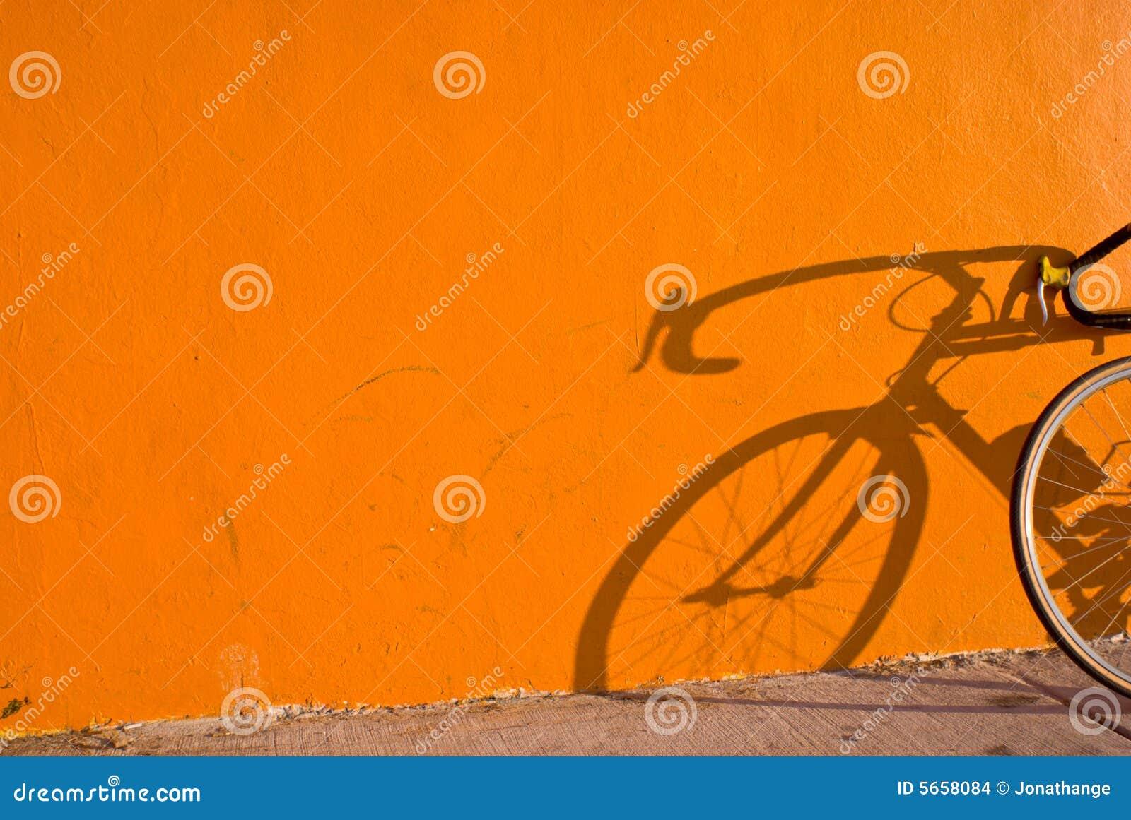 Ombre de bicyclette