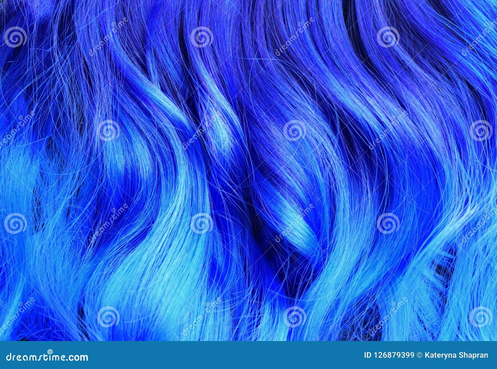 Look - Blue Aqua hair highlights video