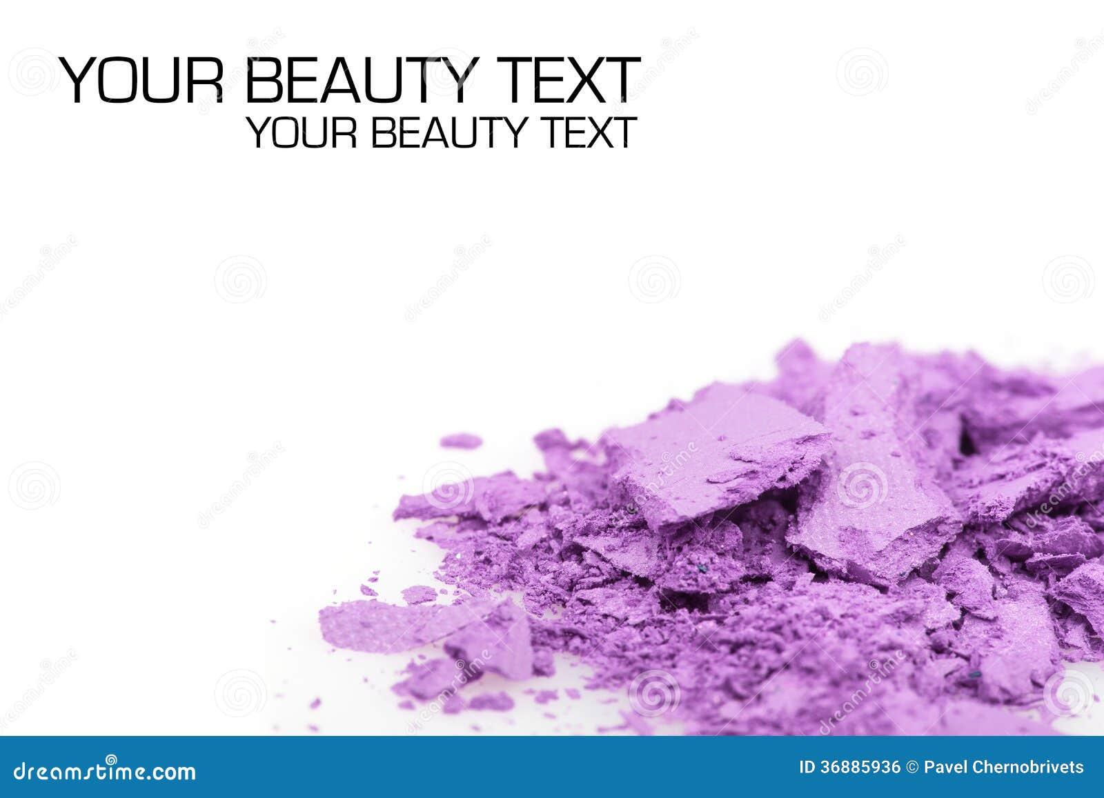 Download Ombretti Schiacciati Su Fondo Bianco Fotografia Stock - Immagine di bellezza, pink: 36885936
