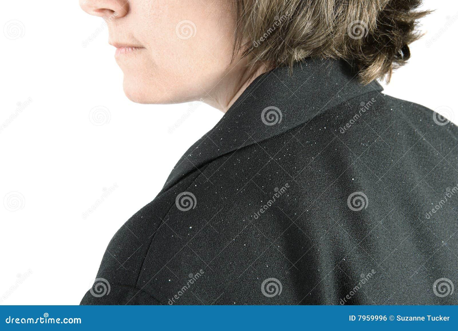 Ombro com caspa