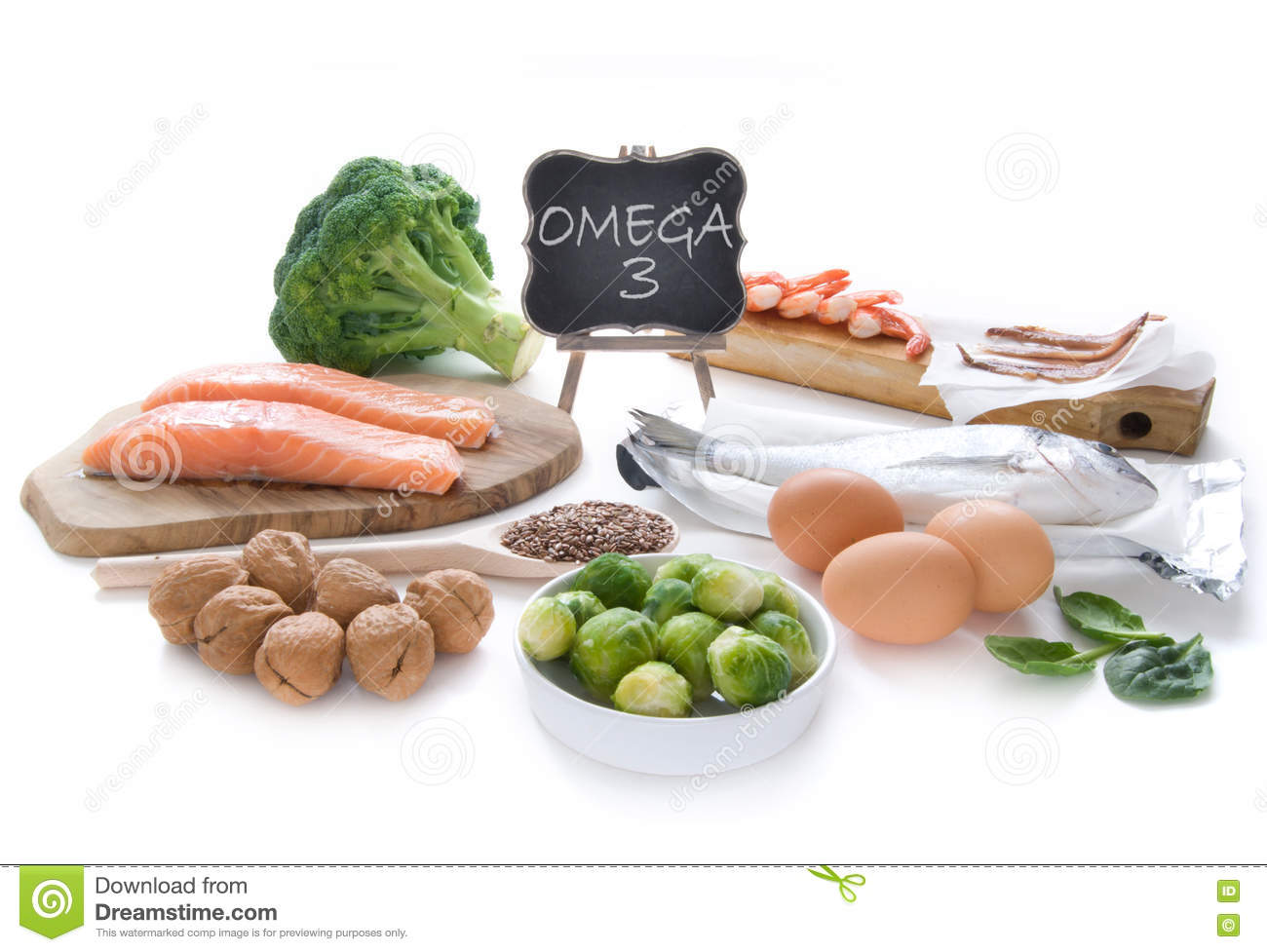 Omega 3 rich foods stock photo image 72118092 for Fish rich in omega 3