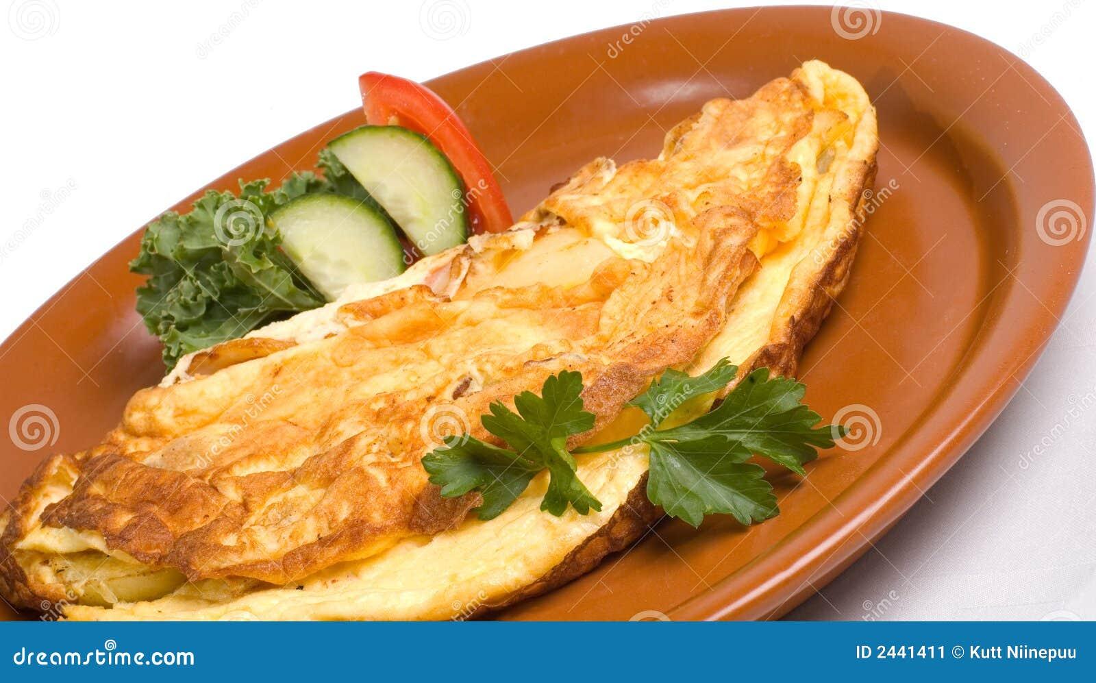 Omeleta do pequeno almoço