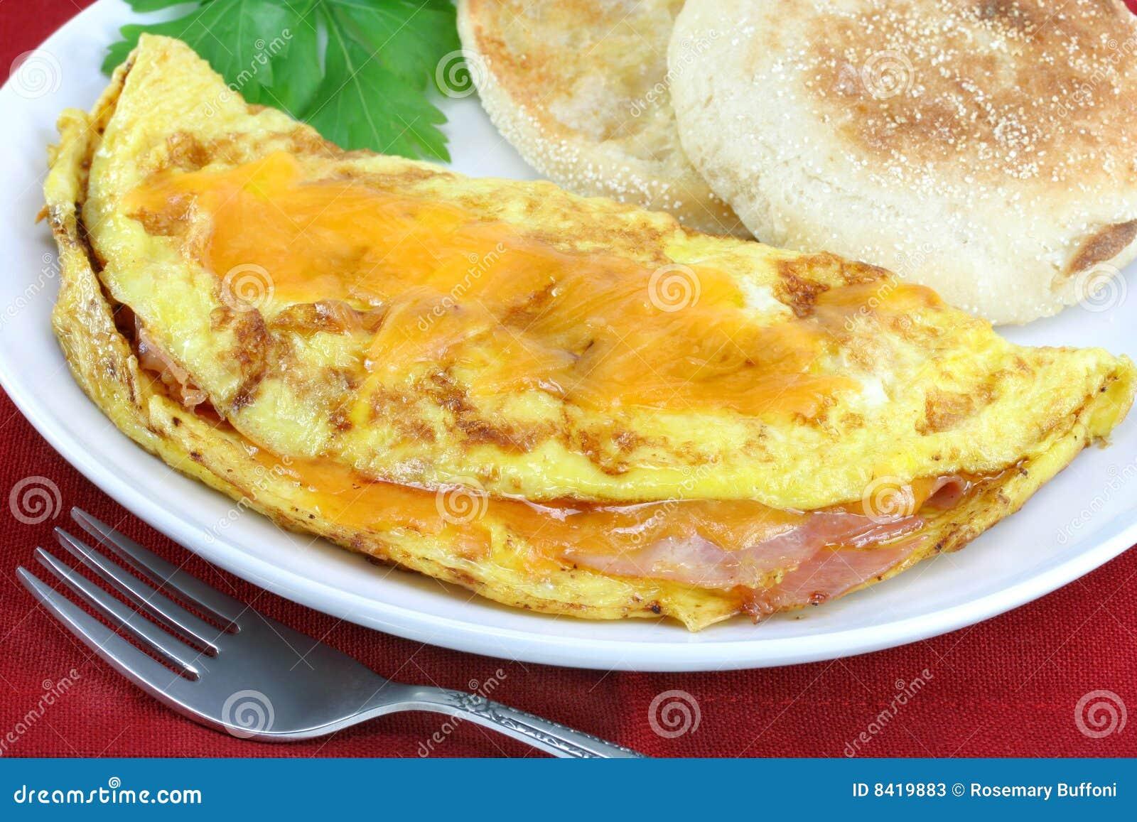 omelett mit schinken und k se stockfotos bild 8419883. Black Bedroom Furniture Sets. Home Design Ideas