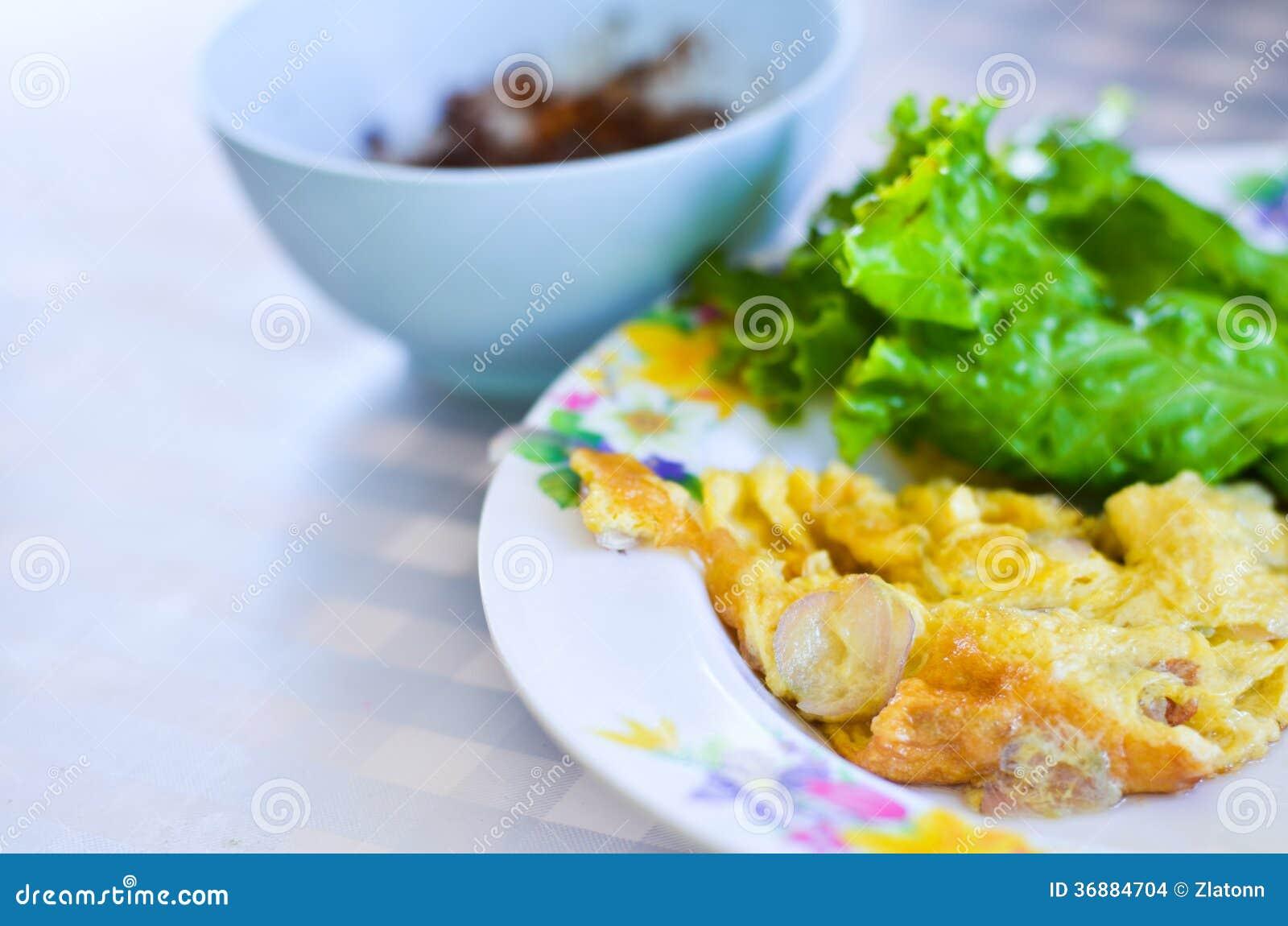 Download Omelette fotografia stock. Immagine di gourmet, breakfast - 36884704