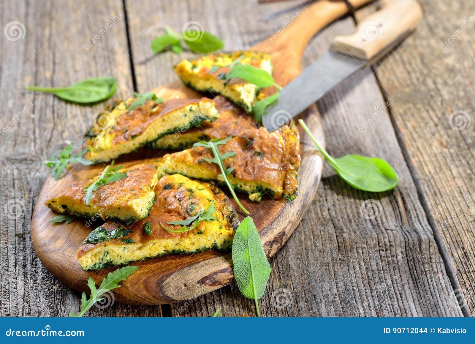 Omelette d herbe
