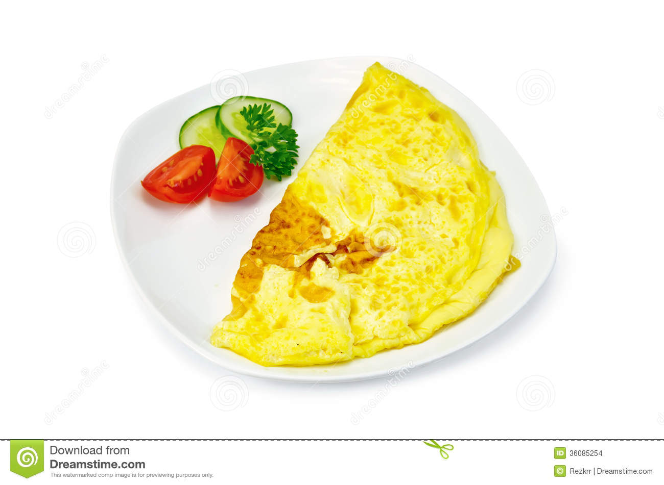 Omelette with vegetables stock photo. Image of vegetable ...