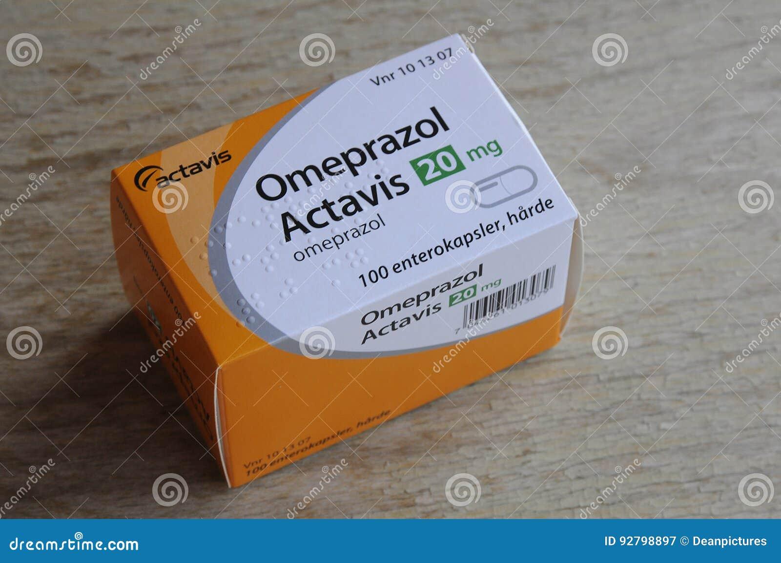 omeprazol actavis apoteket