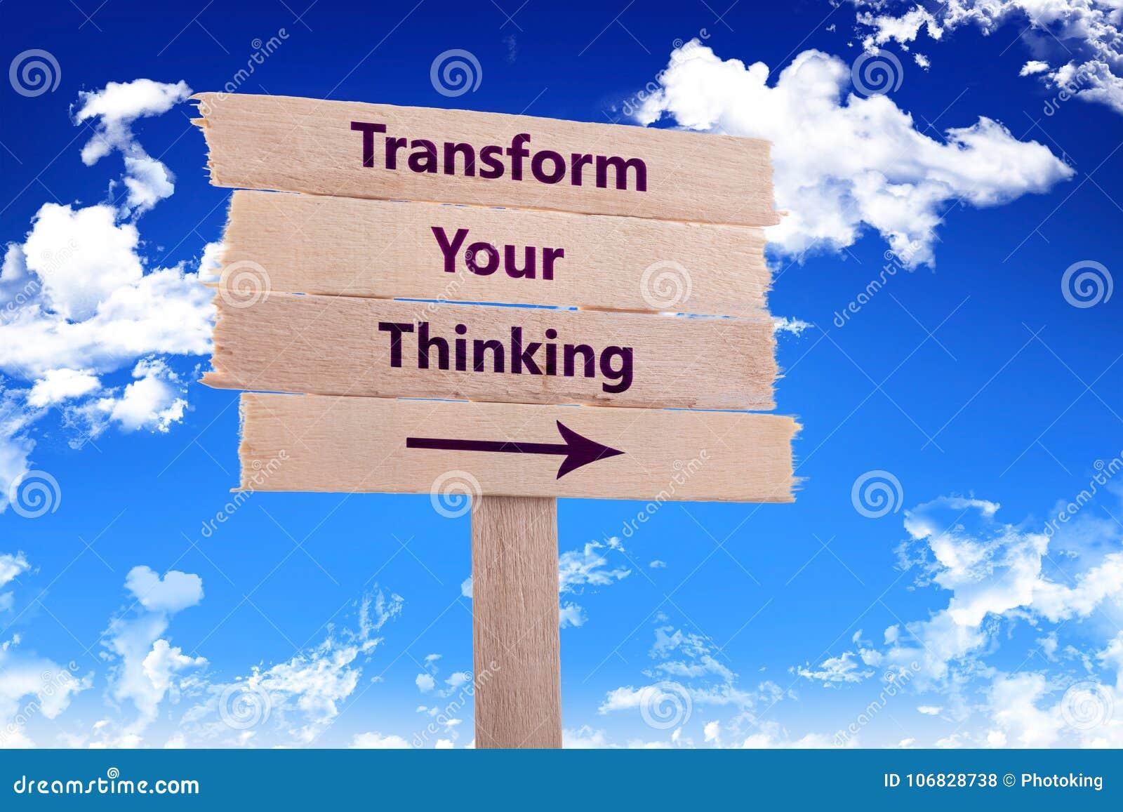 Omforma ditt tänka