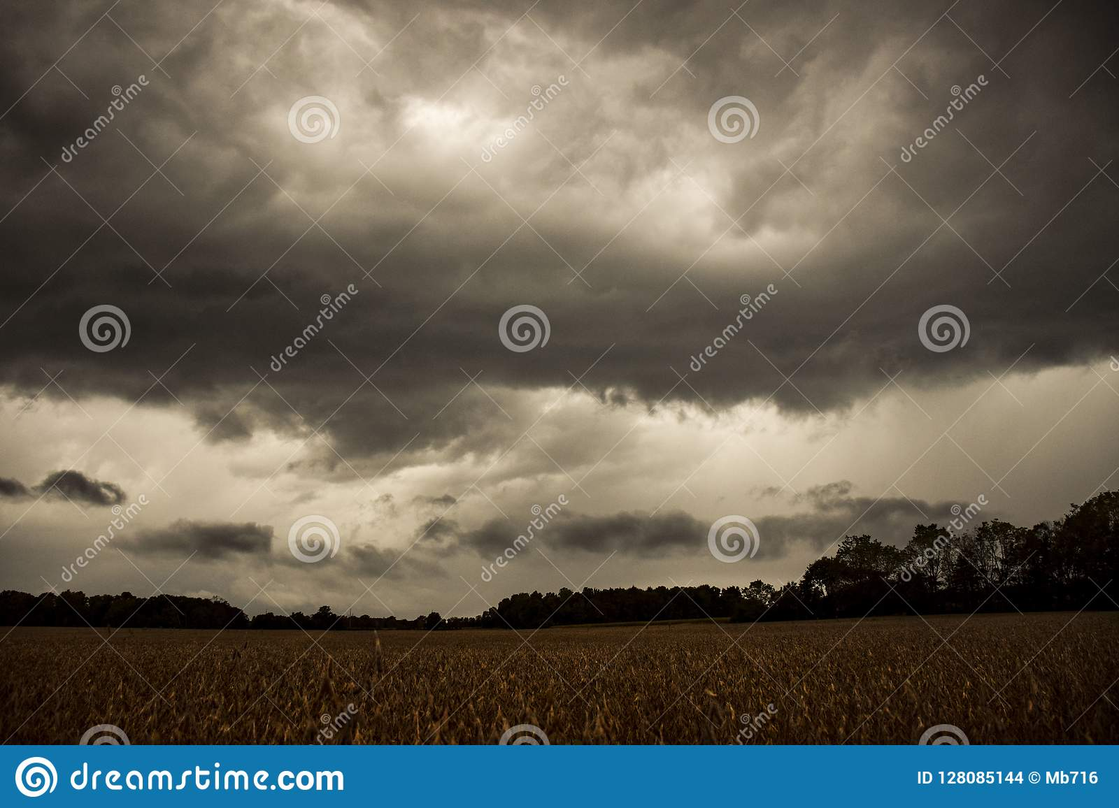 OMINOUS STORM CLOUDS ON HORIZON