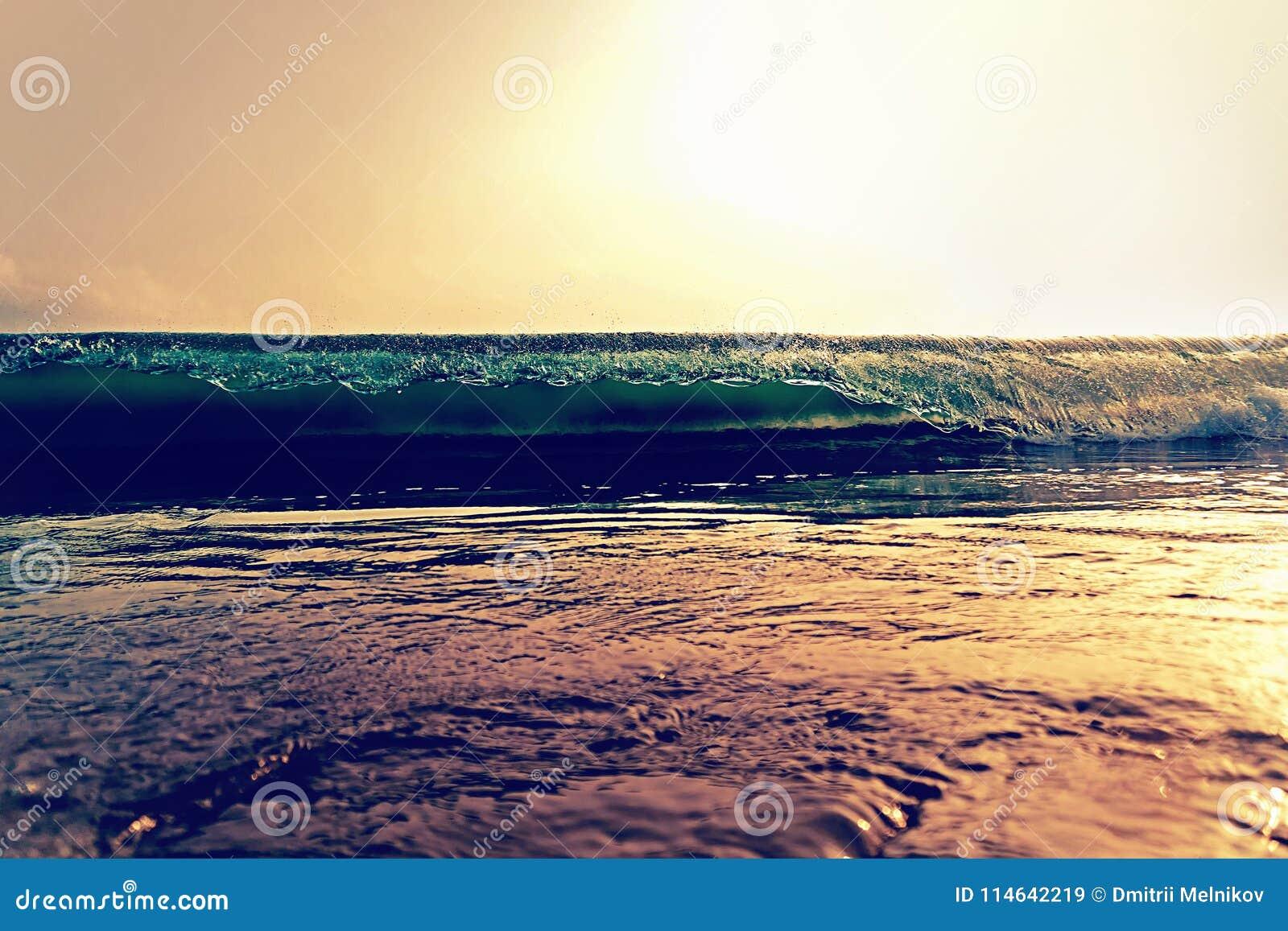 Ominous Ocean Wave