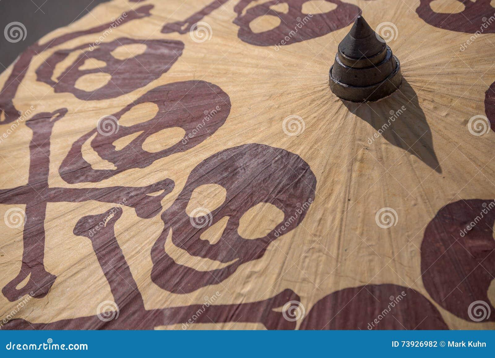 An ominous parasol