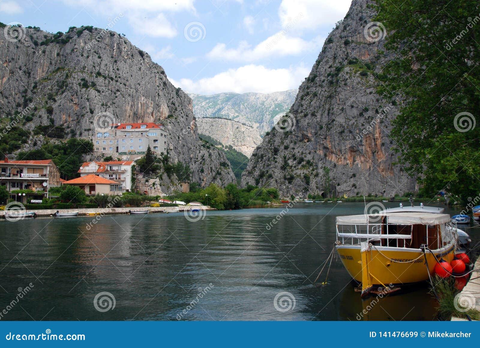 Omis in Croazia