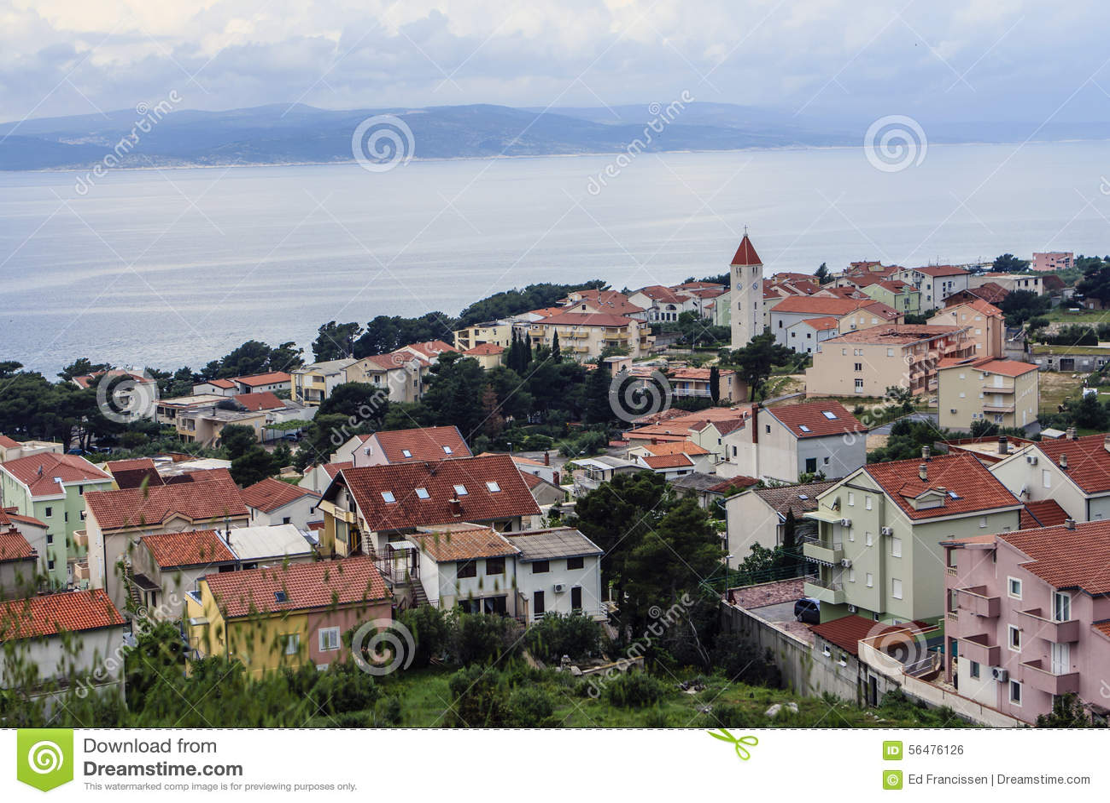 Omis, Dalmatie, Croatie