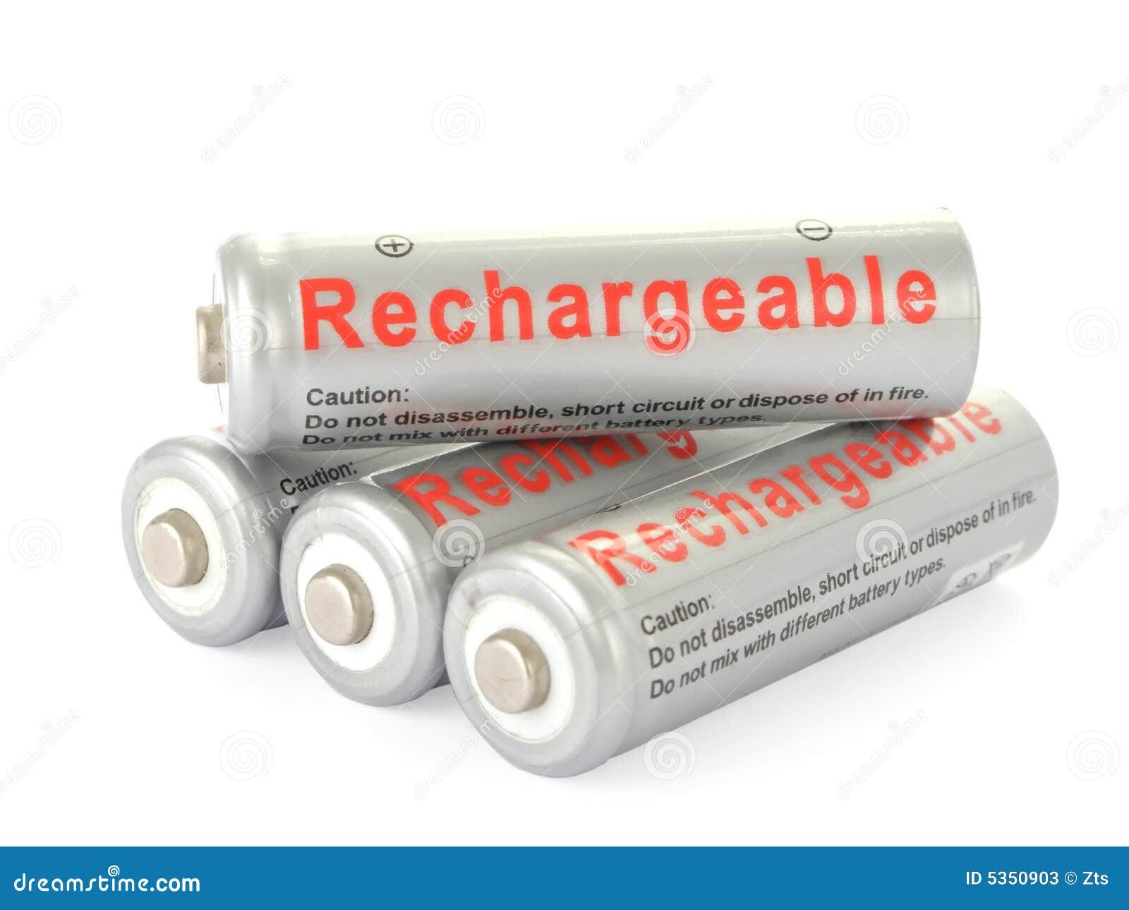 Omladdningsbara aa-batterier
