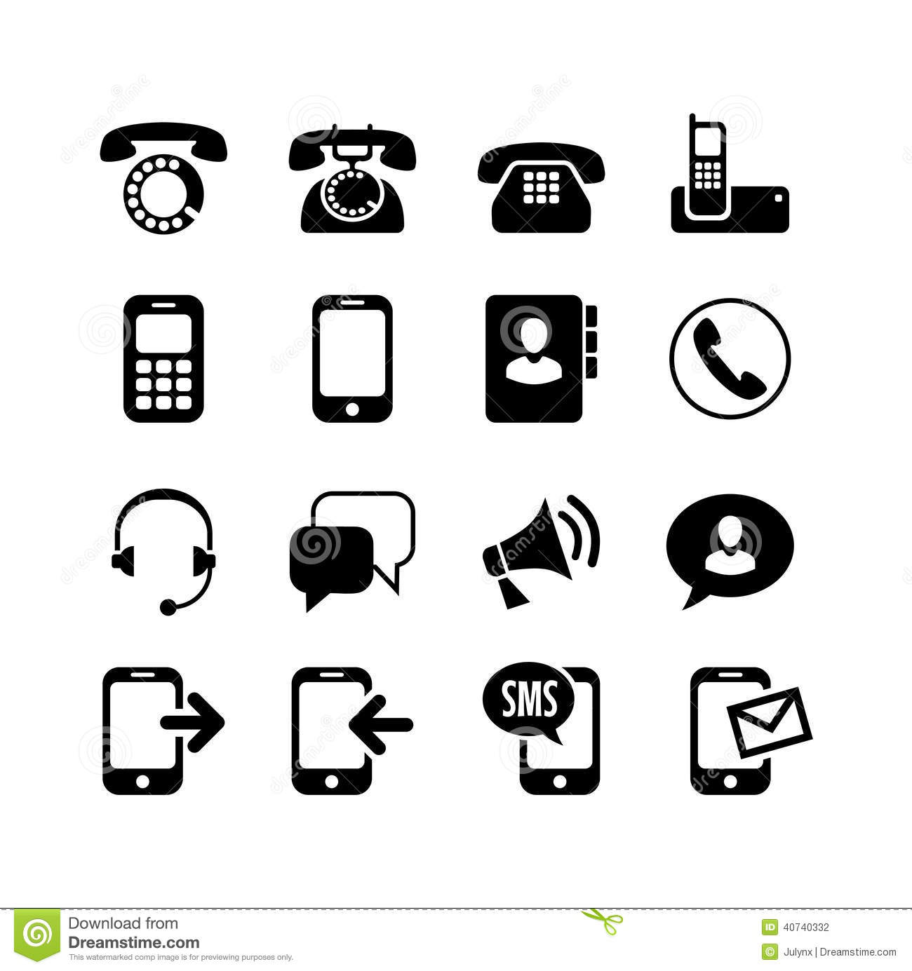 how to change phone icons
