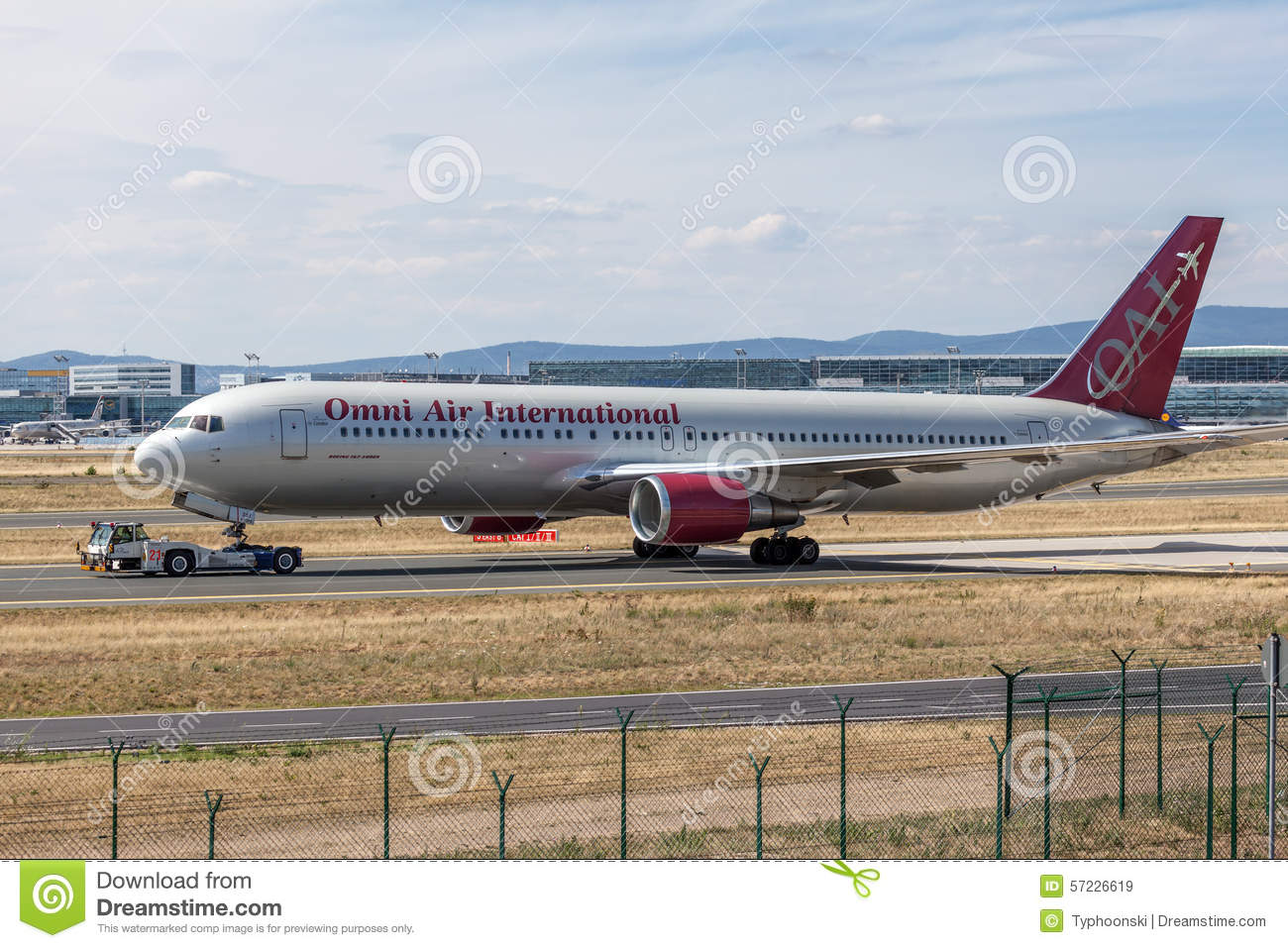 Omni Air International Boeing 767-300 ER