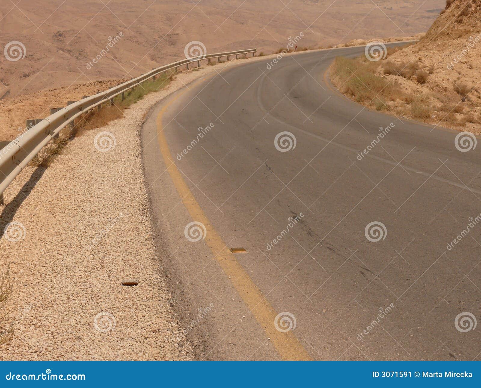 Omnibus d asphalte de désert