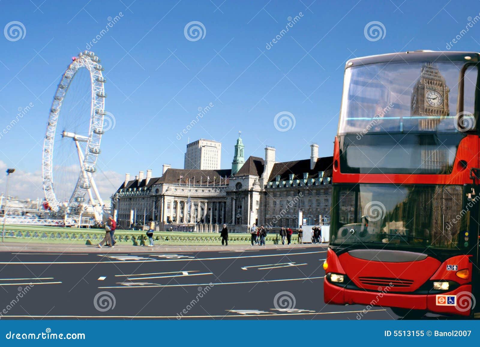 Omnibus rojo, Ben grande, ojo Londres