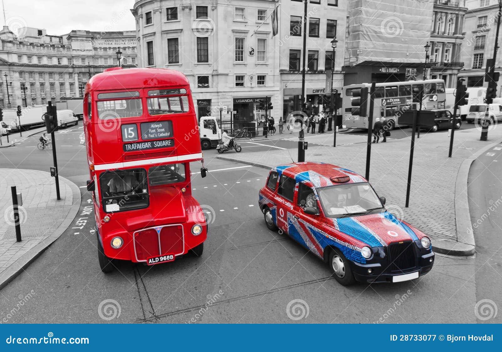 Omnibus y casilla de Londres
