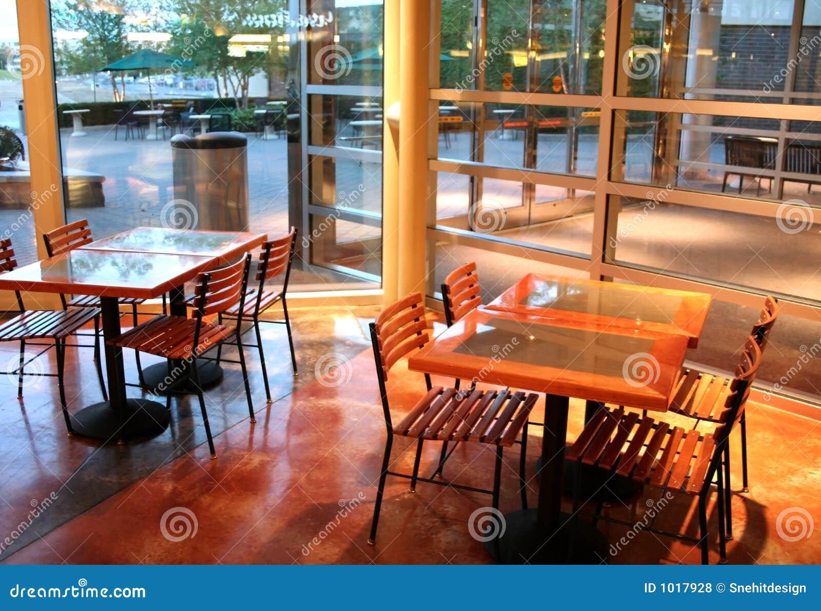 Område som äter restaurangen