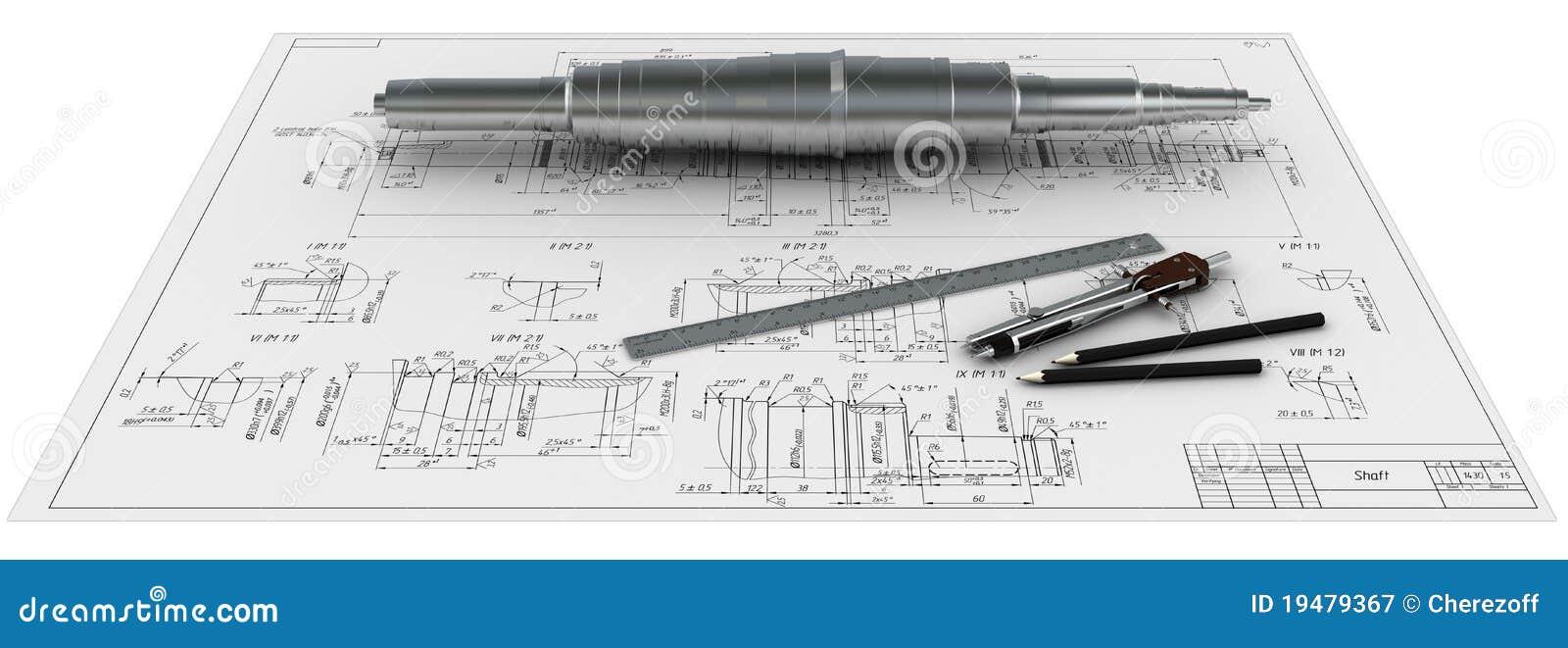 Omringar axeln för linjaler för e-metallblyertspennor