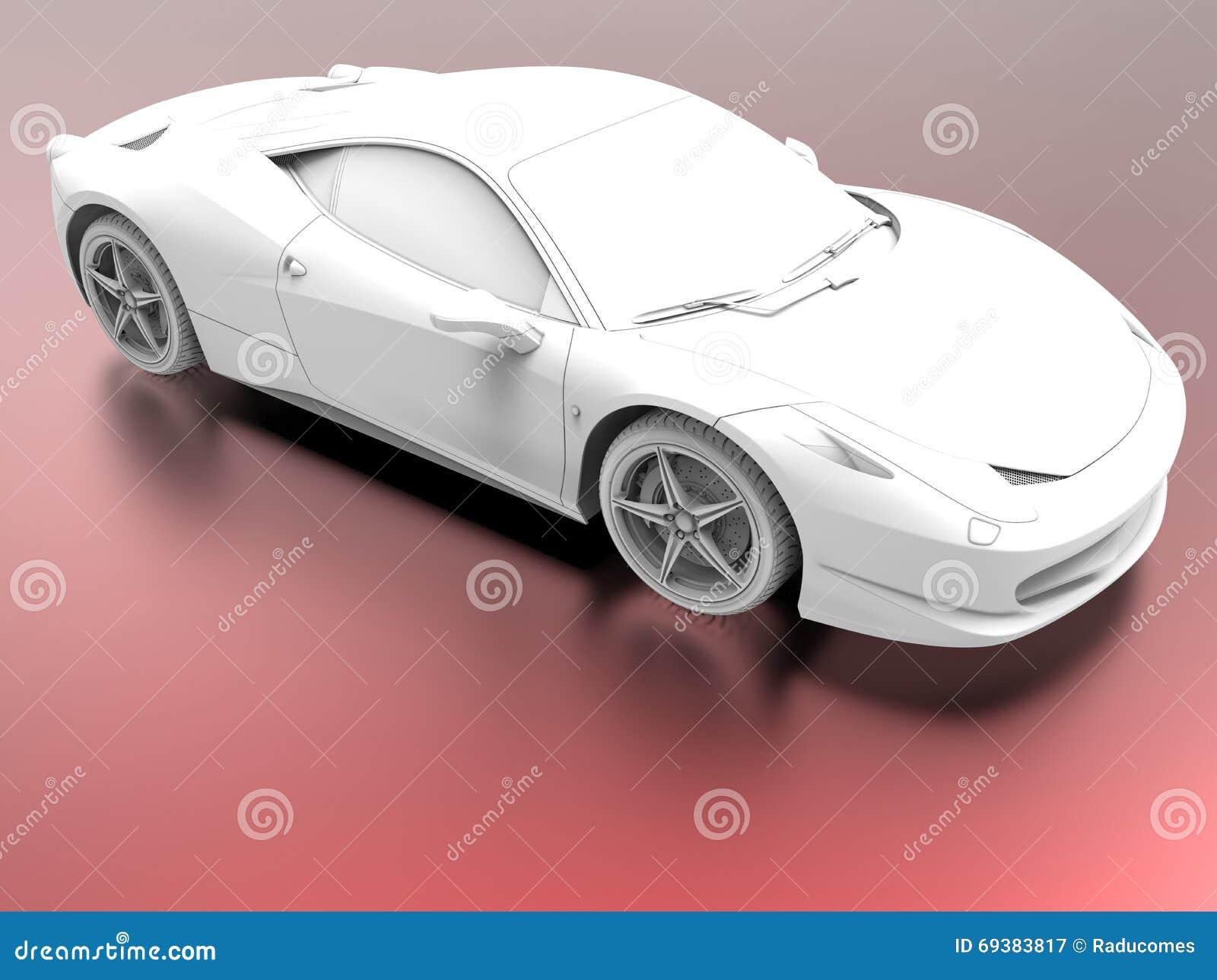 Omringende occlusiesportwagen
