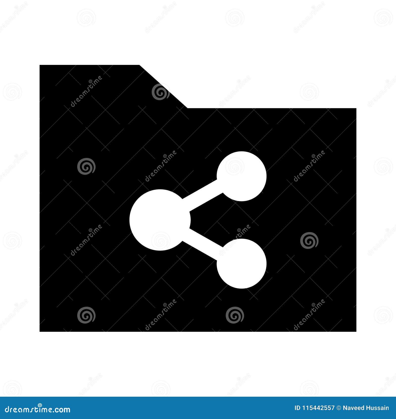 Omslag die glyphs pictogram delen