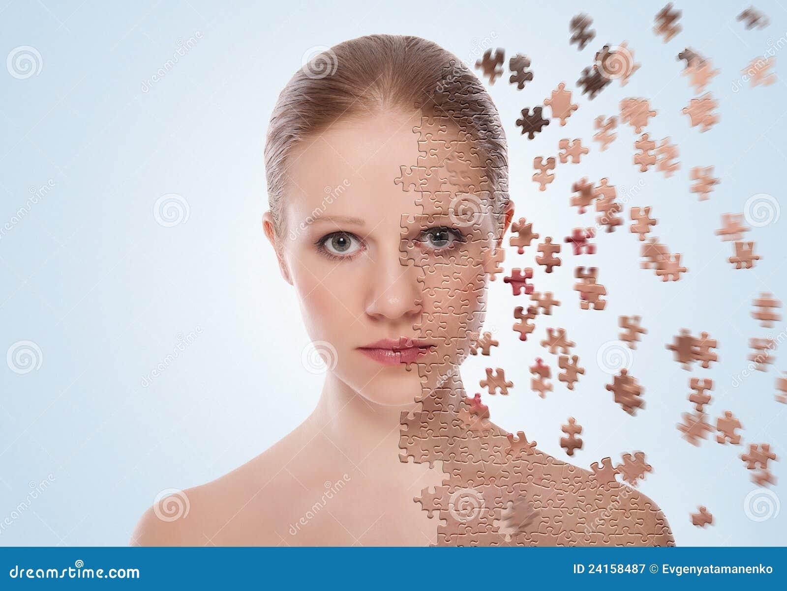 Omsorgsbegreppscosmeticen verkställer hudbehandling